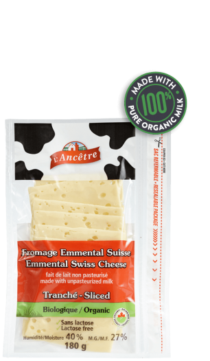 Emmental Swiss Cheese Sliced - 180 g