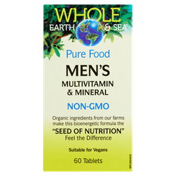 [10679900] Pure Food Men's Multivitamin & Mineral - 60 tablets