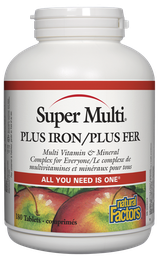 [10007238] Super Multi Plus Iron - 180 tablets
