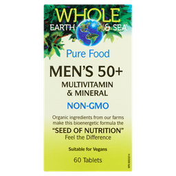 [10679800] Pure Food Men's 50+ Multivitamin & Mineral - 60 tablets