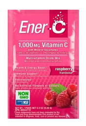 [10476300] Vitamin C Effervescent Powdered Drink Mix - Raspberry 1,000 mg - 9.28 g
