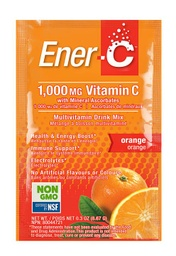 [10476100] Vitamin C Effervescent Powdered Drink Mix - Orange 1,000 mg - 8.67 g
