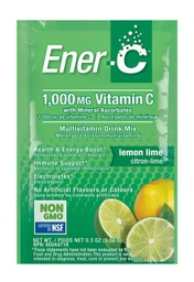 [10476200] Vitamin C Effervescent Powdered Drink Mix - Lemon Lime 1,000 mg - 9.52 g