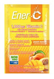 [11005200] Vitamin C Effervescent Powdered Drink Mix - Peach Mango 1,000 mg - 9.64 g